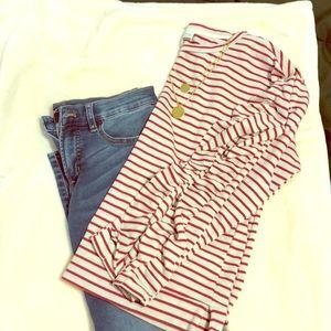 Lucky Brand Striped Sweater
